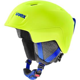 UVEX Manic Pro Helm Kinder neon yellow